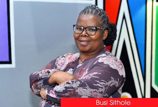 Up Close and Personal with Busisiwe Sithole