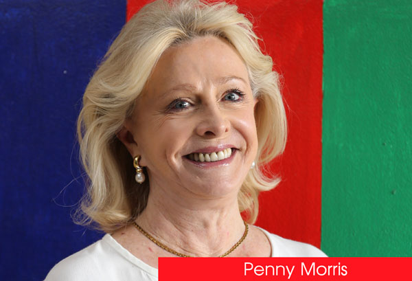 UP Close and Personal with Penny Morris