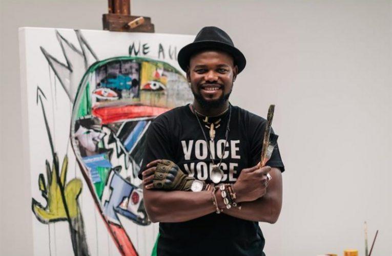 The evolution of multi-media artist Blessing Ngobeni