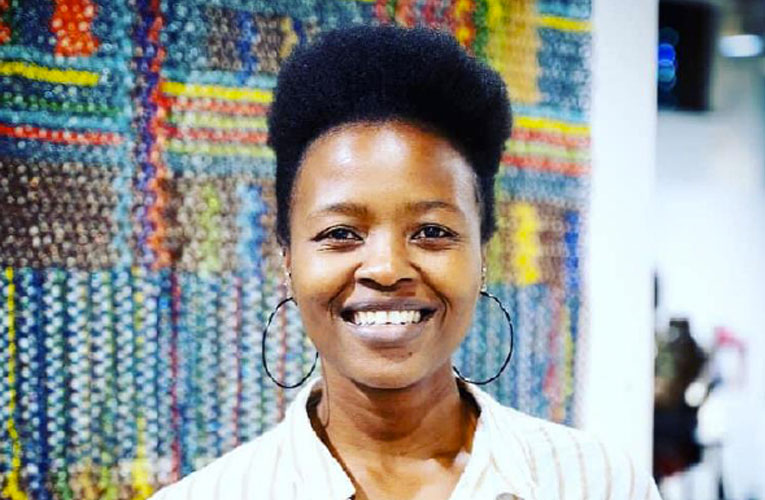 Visual artist Philiswa Lila decalred Artist of the Month