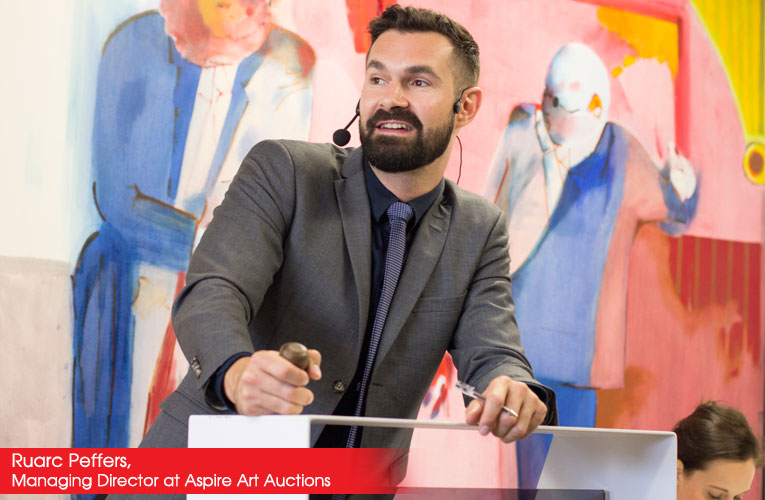 Interview with Ruarc Peffers, Managing Director at Aspire Art Auctions