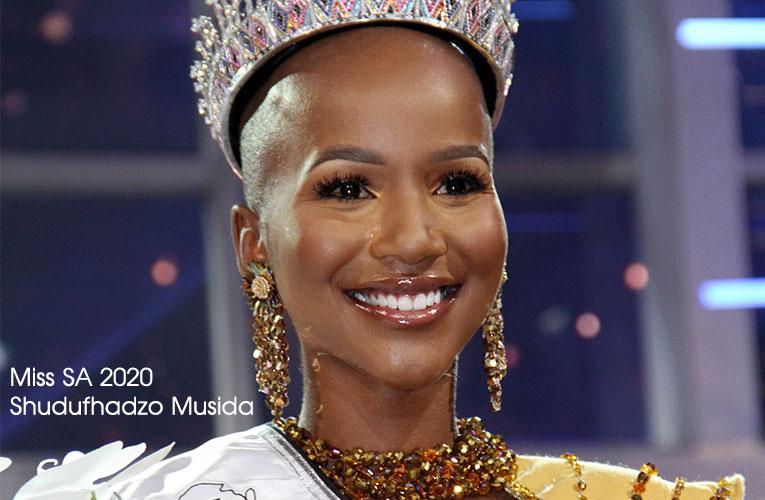 Shudufhadzo Musida clinches Miss South Africa 2020 crown