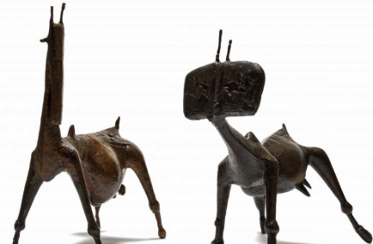 Great sculptures offered at auction