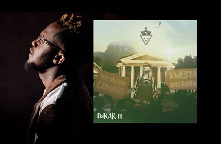 Rapper Kwesta celebrates music success