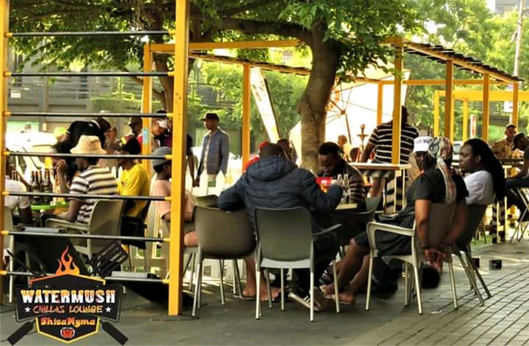 Water Mush Chillas Lounge Shisanyama, a centre of top entertainment and soul food in Maboneng