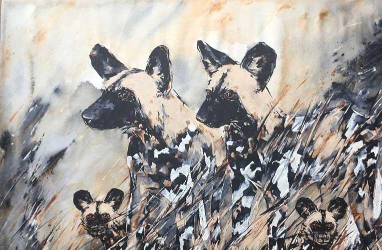 Fine artist Lin Barrie brings wildlife into people's homes through her paintings