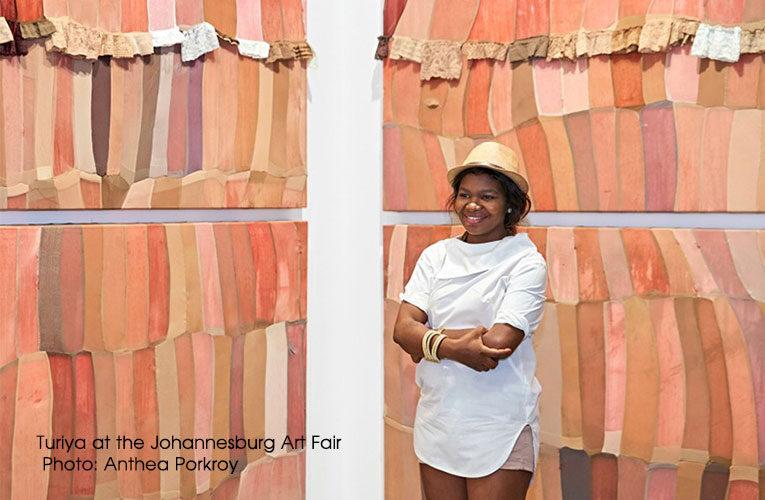 The evolution of visual artist Turiya Magadlela as she is named Artist of the Month