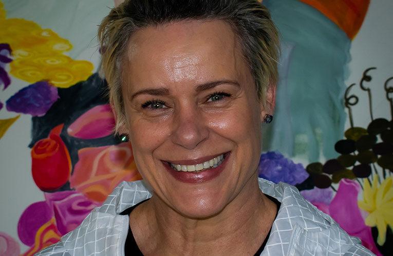 Top ABSA banking executive Karin Mathebula gets to show her artistic side through a solo exhibition eventually
