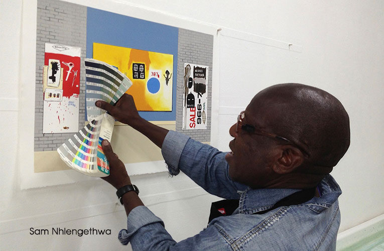 A new Johannesburg-Cape Town visual art collaboration initiative launched