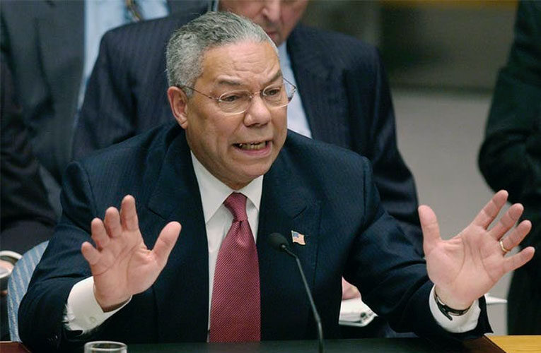 As a patriot and Black man, Colin Powell embodied the 'two-ness' of the African American experience