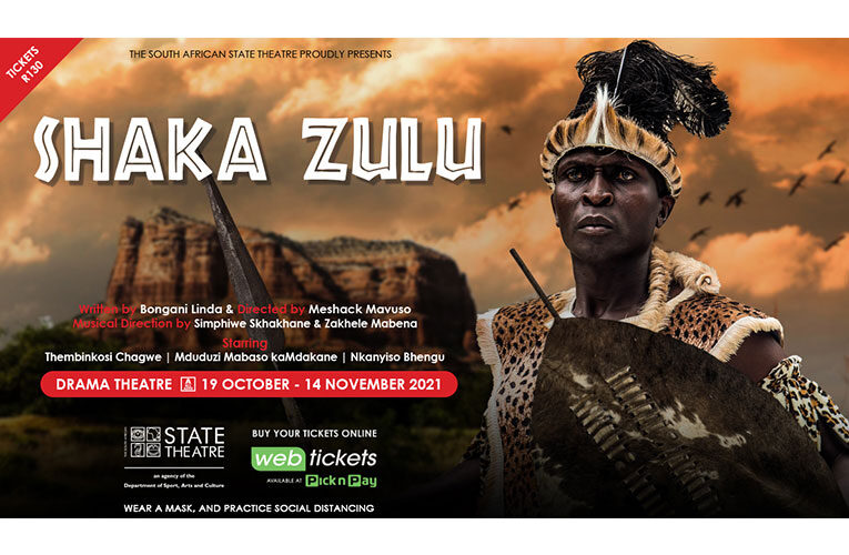 Shaka Zulu goes on stage at State Theatre